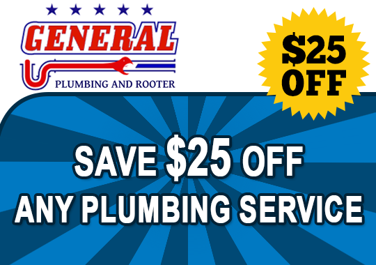 save $25 off any plumbing service